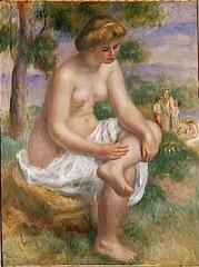 renoir -baigneuse assisse dans un payasage dite eurydice 1895_1900.jpg