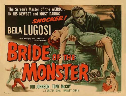 la fiancée du monstre,ed wood,bela lugosi